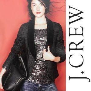 J. Crew Tuxedo blazer, size 2.